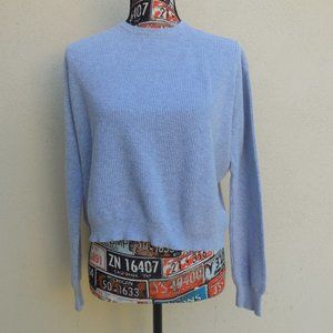 Brandy Melville Gray Knitted Cotton Sweater